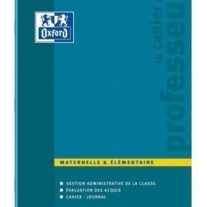 Livraison à domicile de Cahier Oxford Enseignants agrafé - Maternelle et Elémentaire- 100 pages - 24x32cm Chez Rentrée facile