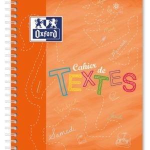 Livraison à domicile de Cahier de textes Oxford Polypro 17x22cm 148 pages réglure cahier de textes Chez Rentrée facile