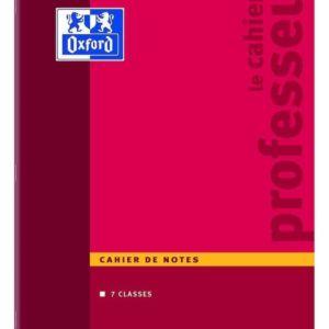 Livraison à domicile de Cahier de notes Oxford Enseignant agrafé A4 44 pages réglure notes professeur Chez Rentrée facile
