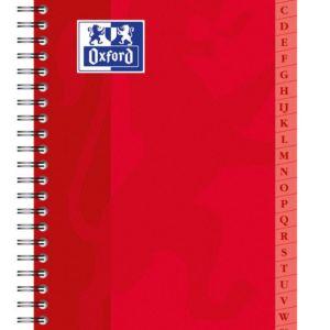 Livraison à domicile de Répertoire Oxford Classique reliure intégrale 9x14cm 100 pages Quadrillé 5mm Chez Rentrée facile