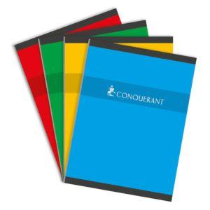 Livraison à domicile de Cahier Conquerant 7 Brochure 24x32 192P 70G Seyes Chez Rentrée facile