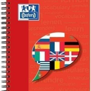 Livraison à domicile de Carnet Oxford Vocabulaire reliure intégrale A5 96 pages réglure spécifique vocabulaire Chez Rentrée facile