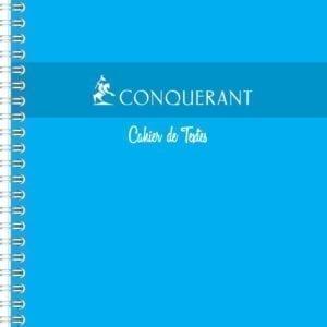 Livraison à domicile de Cahier De Textes Conquerant 7 Integrale 17x22 148P 70G Texts Chez Rentrée facile