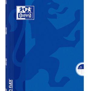 Livraison à domicile de Cahier Oxford Openflex agrafé - A4 - 96 pages - grands carreaux Séyès Chez Rentrée facile