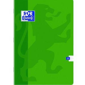 Livraison à domicile de Cahier Oxford Classique agrafé A4 96 pages grands carreaux Seyès Chez Rentrée facile