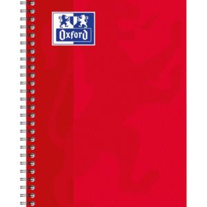 Livraison à domicile de Carnet Oxford Classique reliure intégrale 11x17cm 100 pages grands carreaux Seyès Chez Rentrée facile