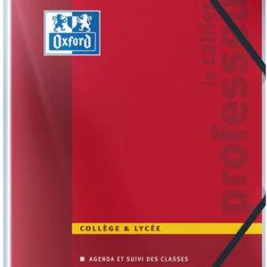 Livraison à domicile de Cahier Oxford secondaire Enseignant agrafé A4 144 pages collège professeur Chez Rentrée facile