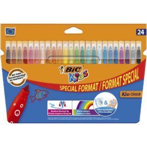 Livraison à domicile de BIC Kids Crayons de Couleur x24 Chez Rentrée facile