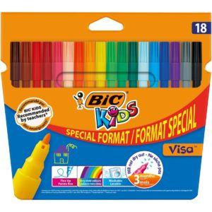 Livraison à domicile de BIC Kids Feutres de Coloriage x18 Chez Rentrée facile
