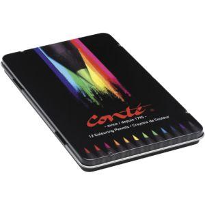 Livraison à domicile de Conté Crayons de Couleur x12 Chez Rentrée facile