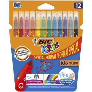 Livraison à domicile de BIC Kids Crayons de Couleur x12 Chez Rentrée facile