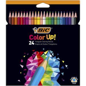 Livraison à domicile de BIC Color Up Crayons de Couleur x24 Chez Rentrée facile