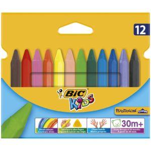Livraison à domicile de BIC Kids Craies de Coloriage x12 Chez Rentrée facile