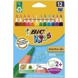 Livraison à domicile de BIC Kids Crayons de Couleurs x12 Chez Rentrée facile