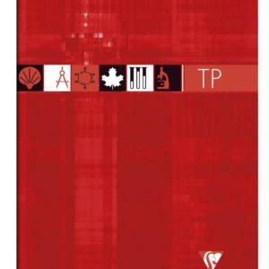 Livraison à domicile de Cahier Travaux Pratiques piqûre Clairefontaine A4 80 pages grands carreaux (séyès) + uni Couleur aléatoire Chez Rentrée facile