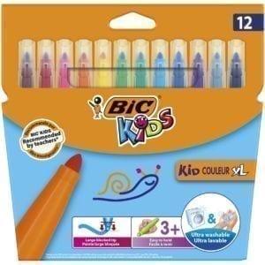 Livraison à domicile de BIC Kids Feutres de Coloriage x12 Chez Rentrée facile