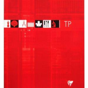 Livraison à domicile de Cahier Travaux Pratiques piqûre Clairefontaine 24x32cm 80 pages grands carreaux (séyès) + uni Couleur aléatoire Chez Rentrée facile