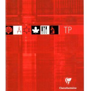 Livraison à domicile de Cahier Travaux Pratiques piqûre Clairefontaine 17x22cm 80 pages grands carreaux (séyès) + uni Couleur aléatoire Chez Rentrée facile