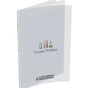 Livraison à domicile de Cahier Travaux Pratiques Conqc Agrafe A4 96P 90-120G Seyes/Uni Polypro Chez Rentrée facile
