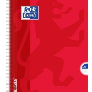 Livraison à domicile de Cahier Oxford Openflex reliure intégrale A4 100 pages grands carreaux Seyès Chez Rentrée facile