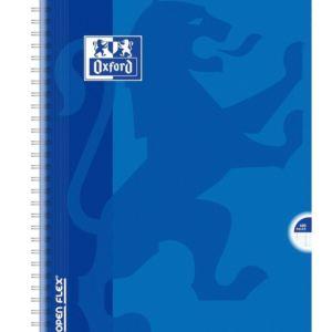 Livraison à domicile de Cahier Oxford Openflex reliure intégrale 24x32cm 100 pages grands carreaux Seyès Chez Rentrée facile