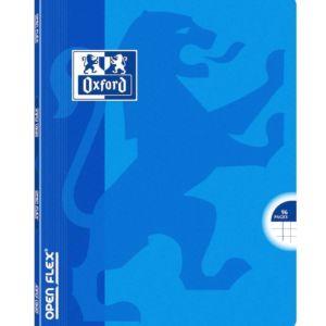 Livraison à domicile de Cahier Oxford Openflex agrafé 17x22cm 96 pages Quadrillé 5mm margés Chez Rentrée facile
