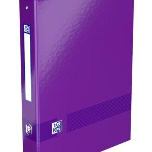 Livraison à domicile de Classeur Oxford Color Life A4 XL dos 40 mm 4 anneaux ronds carte péliculée assorti Chez Rentrée facile