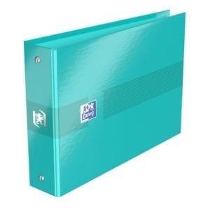 Livraison à domicile de Classeur Oxford Color Life A5 dos de 35 mm 2 Anneaux ronds Carte Pelliculée Assorti Chez Rentrée facile