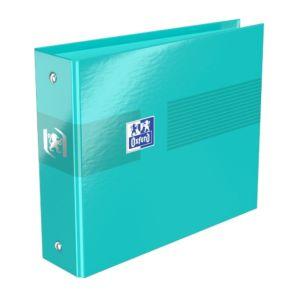 Livraison à domicile de Classeur Oxford Color Life A6 dos de 35mm 2 Anneaux ronds Carte Pelliculée Assorti Chez Rentrée facile