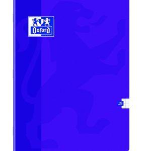 Livraison à domicile de Cahier Oxford Classique agrafé 24x32cm 140 pages grands carreaux Seyès Chez Rentrée facile