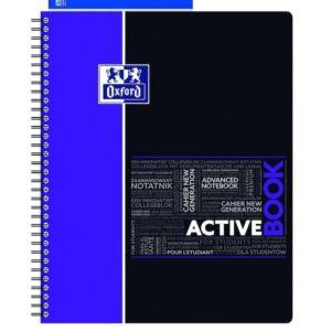 Livraison à domicile de Cahier Activebook Oxford Etudiants reliure intégrale A4+ 160 pages grands carreaux Seyès Chez Rentrée facile