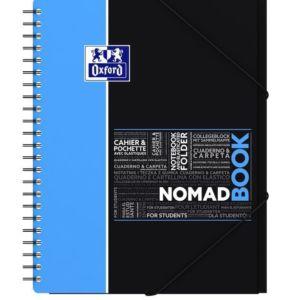 Livraison à domicile de Cahier Nomadbook Oxford Etudiants reliure intégrale A4+ 160 pages grands carreaux Seyès Chez Rentrée facile