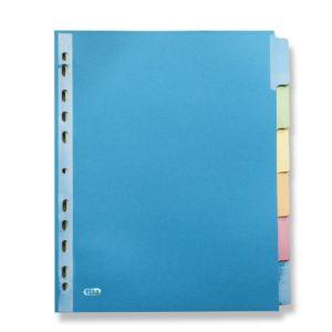 Livraison à domicile de Intercalaire Neutre Elba Color Life A4+ 6 Positions carte lustrée 220G Strongline®  ass Chez Rentrée facile
