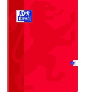 Livraison à domicile de Cahier Oxford Classique agrafé 24x32cm 48 pages Quadrillé 5mm margés Chez Rentrée facile