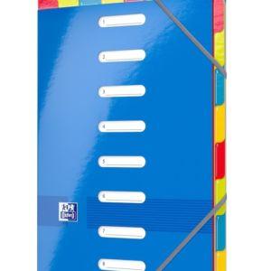Livraison à domicile de Trieur Double Entrée Elba Color Life A4 8 Positions Carte Lustrée Assorti En Pav Chez Rentrée facile
