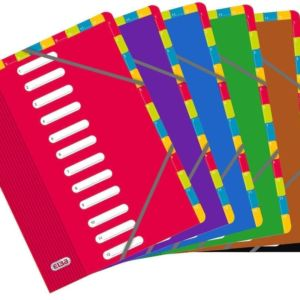 Livraison à domicile de Trieur Double Entrée OXFORD Color Life A4 12 Positions Carte Lustrée Assorti En Pav Chez Rentrée facile