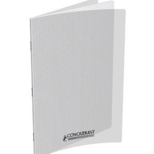 Livraison à domicile de Cahier Conquérant Classique Agrafe 24x32 48P 90G Q5/5 Incolore  Polypro Chez Rentrée facile