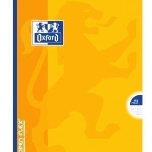 Livraison à domicile de Cahier Oxford Openflex broché 17x22cm 192 pages grands carreaux Seyès Chez Rentrée facile