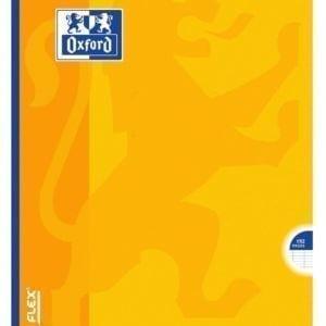 Livraison à domicile de Cahier Oxford Openflex broché A4 192 pages grands carreaux Seyès Chez Rentrée facile