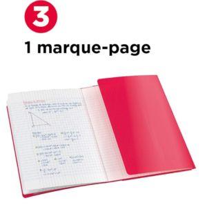 Livraison à domicile de cahier easybook oxford agrafe 210x297 96p 90g q5/5+marge assorti Chez Rentrée facile