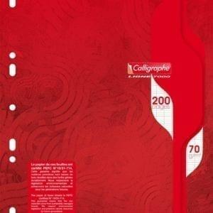Livraison à domicile de Calligraphe- A4 - Copies doubles - 21 x 29