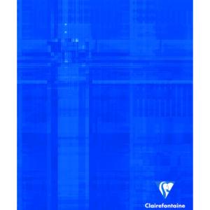 Livraison à domicile de Cahier piqûre Clairefontaine 17x22cm 96 pages grands carreaux (séyès) Couleur aléatoire Chez Rentrée facile