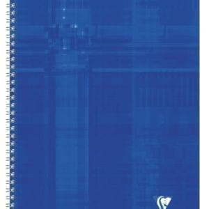 Livraison à domicile de Cahier reliure intégrale Clairefontaine A4 100 pages grands carreaux (séyès) Couleur aléatoire Chez Rentrée facile