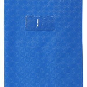 Livraison à domicile de Couverture de cahier d'exercices clairefontaine avec porte étiquette 17 x 22 cm Chez Rentrée facile