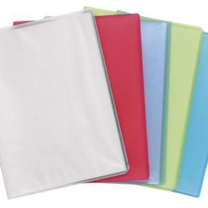 Livraison à domicile de Protège-documents en polypropylène semi rigide Chromaline 80 vues - A4 Chez Rentrée facile