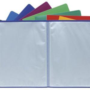 Livraison à domicile de Protège-documents en polypropylène souple pochettes grainées opaque 120 vues - A4 Chez Rentrée facile