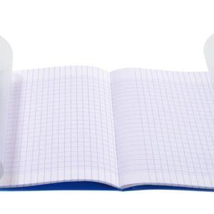 Livraison à domicile de Cahier piqûre Clairefontaine Koverbook couverture plastique 24x32cm 96 pages grands carreaux (séyès) Couleur aléatoire Chez Rentrée facile