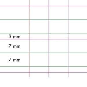 cahier d'apprentissage double ligne agrandi plus interligne réglure DL3m plus une page uni. rentrer facile . com spécialiste des fournitures scolaires en ligne à petits prix!