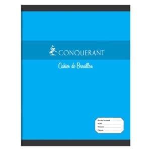 Cahier de brouillon conquérant 56g 96 pages
