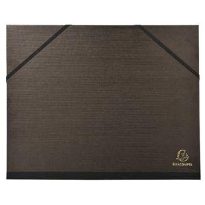 Carton à dessin 26x33 Exacompta noir vernis